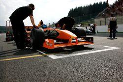 #15 Gary Woodcock, WB Racing, F1 Arrows A22 Hart 3.0 V10 [ex-Bernoldi et Frenzen]