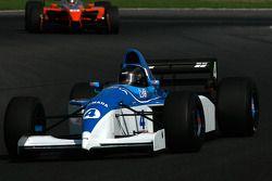 #4 Abba Kogan F1 Tyrrell 023; #11 Henk De Boer Champ Car Panoz DP01