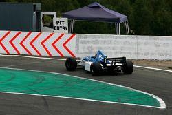 #4 Abba Kogan, Fuchs Oil, F1 Tyrrell 023 Yamaha