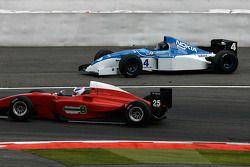 #4 Abba Kogan, Fuchs Oil, F1 Tyrrell 023 Yamaha; #25 Karl-Heinz Becker WS Dallara Nissan