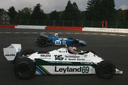 #88 Simon Hadfield Matra MS80; #69 Michael Fitzgerald Williams FW07
