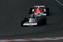 #27 Paul Grant Trojan 103; #26 Frank Lyons McLaren M26