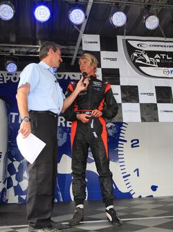 Podium: troisième place pour Markus Niemela, Jensen MotorSport