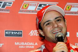 Felipe Massa, Scuderia Ferrari, after for his first F1 test since his accident