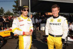 Lucas di Grassi, Test Pilotu, Renault F1 Team, ve Julien Piguet
