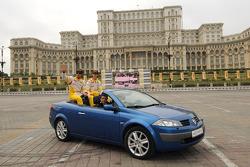 Romain Grosjean, Renault F1 Team et Lucas di Grassi, Renault F1 Team