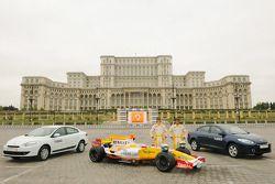 Romain Grosjean, Renault F1 Team ve Lucas di Grassi, Test Pilotu, Renault F1 Team