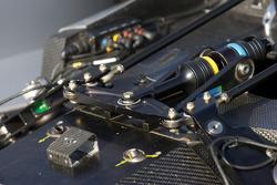 #15 Lowe's Fernandez Racing Acura ARX-01B Acura: suspension