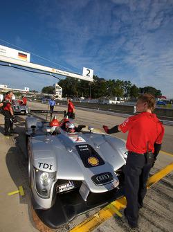 #2 Audi Sport Team Joest Audi R15 TDI: Rinaldo Capello, Allan McNish