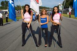 De charmantes jeunes femmes Speed et Toyo Tires