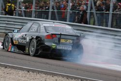 Christian Bakkerud, Kolles TME Audi A4 DTM in trouble