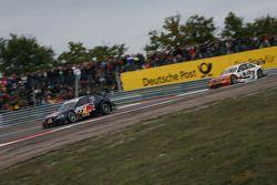 Mattias Ekström, Audi Sport Team Abt Audi A4 DTM and Gary Paffett, Team HWA AMG Mercedes AMG Merced