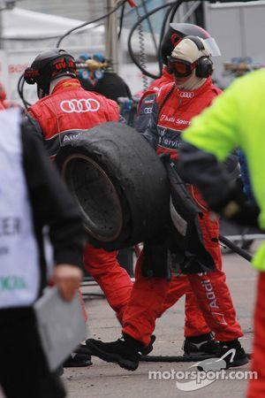Used tires of Mattias Ekström, Audi Sport Team Abt Audi A4 DTM