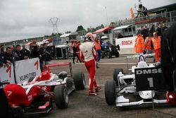 Segundo lugar Jules Bianchi, ART Grand Prix Dallara F308 Mercedes