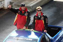 Driver Parade: #67 Supercheap Auto Racing: Paul Morris, Tim Slade