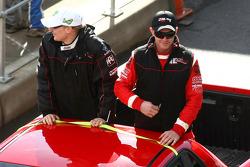 Parade des pilotes : #247 Dodo Racing Team: Jack Perkins, Dale Wood