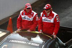 Parade des pilotes : #3 Sprint Gas Racing: Jason Bargwanna, Mark Noske