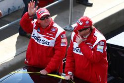 Parade des pilotes : #3 Sprint Gas Racing: Jason Bargwanna, Mark Noske