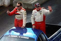 Parade des pilotes: #13 Jesus Racing: David Seiders, Andrew Fisher