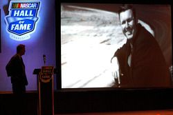 NASCAR visionary Bill France Sr. was the first inductee announced as part of the inaugural Hall of Fame class by his grandson and Chairman and CEO Brian France