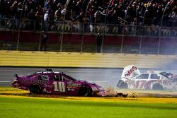 Ricky Stenhouse Jr. & Reed Sorenson: accident