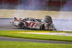 Ricky Stenhouse Jr. : accident