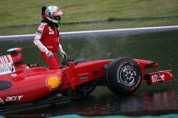 Giancarlo Fisichella, Scuderia Ferrari spins