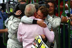 Jenson Button, Brawn GP y su padre John