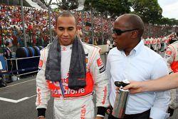 Lewis Hamilton, McLaren Mercedes, Anthony Hamilton, père de Lewis Hamilton