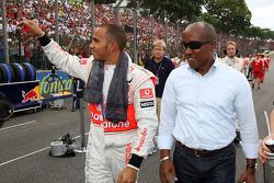 Lewis Hamilton, McLaren Mercedes, Anthony Hamilton, Father of Lewis Hamilton