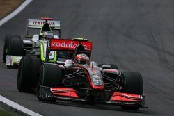 Heikki Kovalainen, McLaren Mercedes & Jenson Button, Brawn GP