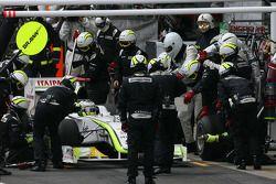 Jenson Button, Brawn GP pitstop