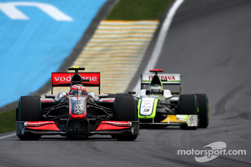 2009: McLaren MP4-24 Mercedes