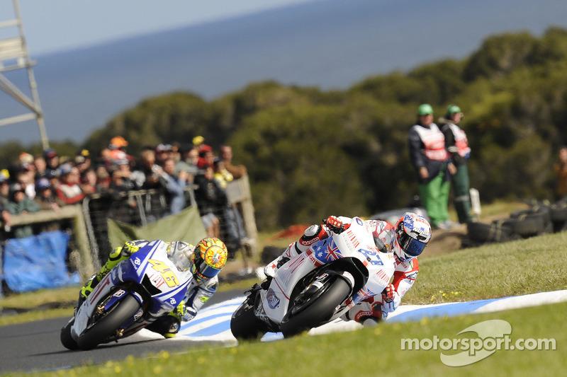 Más victorias en MotoGP: 6