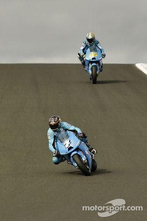 Chris Vermeulen, Rizla Suzuki MotoGP, Loris Capirossi, Rizla Suzuki MotoGP
