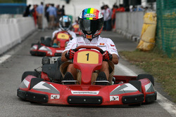 Go-kart evenement: Alex De Angelis