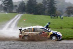 Daniel Sordo y Marc Marti, Citroen Total World Rally Team Citroen C4