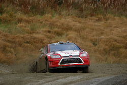Aaron Burkart & Michael Kolbach, Citroen Junior Team Citroën C4 WRC