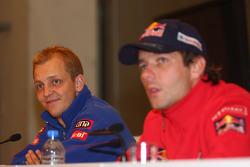 Mikko Hirvonen et Sébastien Loeb