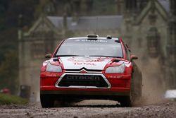 Aaron Burkart & Michael Kolbach, Citroen Junior Team Citroën C4 WRC