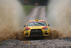 Martin Smerad and Bohuslav Ceplecha, Pirelli Star Driver Mitsubishi Evo X