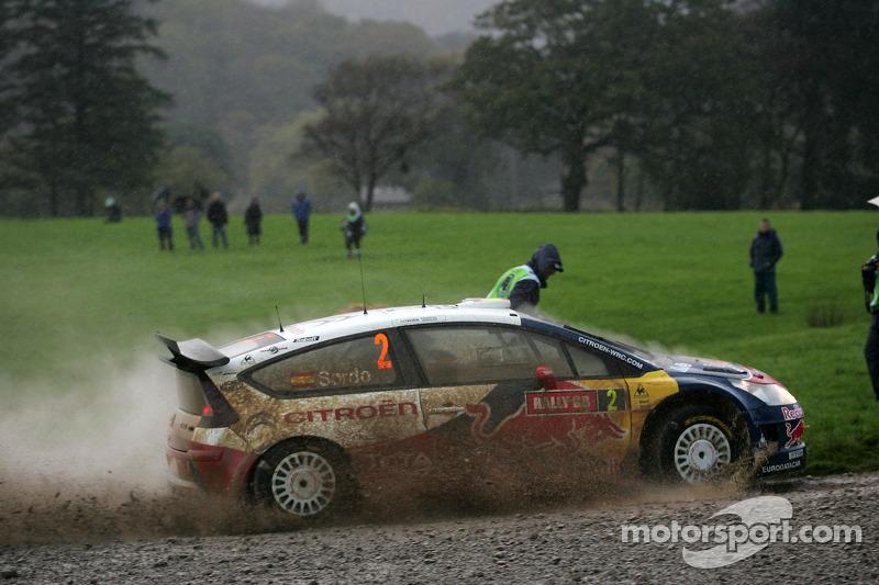 2009: Daniel Sordo y Marc Marti, Citroen Total World Rally Team Citroen C4