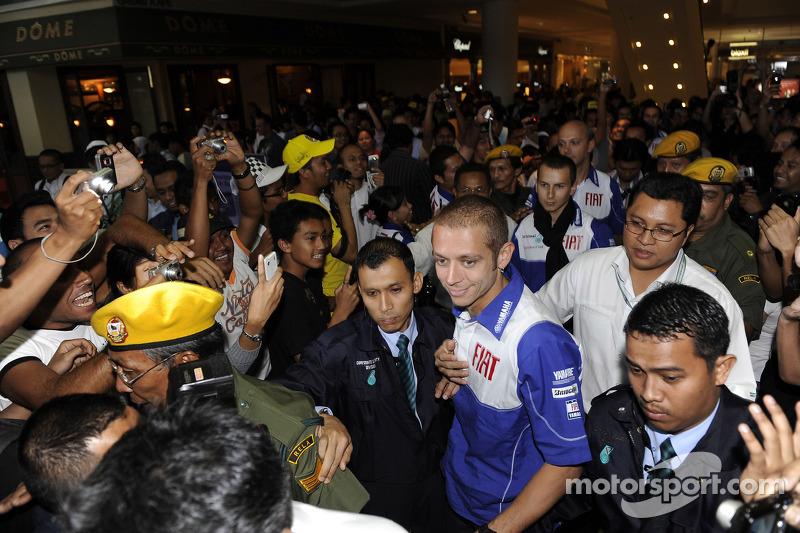 Visita de las Torres Petronas Valentino Rossi