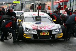 Pitstop practice of Martin Tomczyk, Audi Sport Team Abt Audi A4 DTM