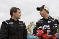 Casey Atwood and Matt DiBenedetto