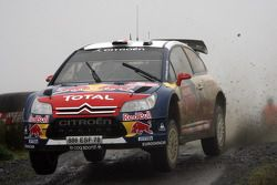 Sébastien Loeb et Daniel Elena, Citroen Total World Rally Team Citroen C4