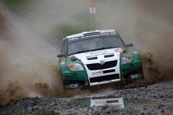 Eyvind Brynildsen et Denis Giraudet, Skoda Fabia S2000