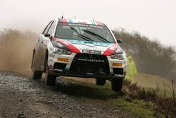Armindo Araujo et Miguel Ramalho, Ralliart Italy Mitsubishi Lancer Evo IX