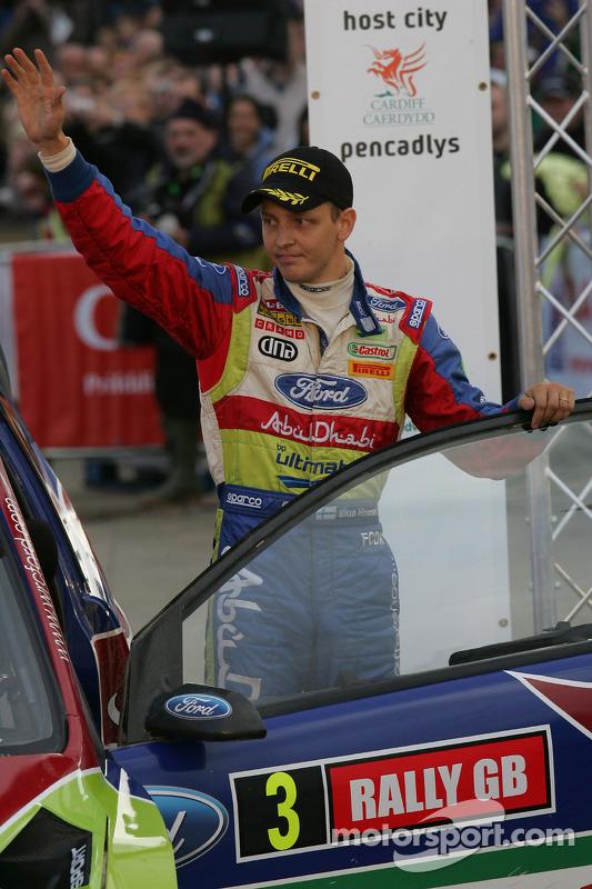 Podium: seconde place pour Mikko Hirvonen