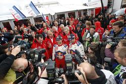 Les vainqueurs et champions Sébastien Loeb et Daniel Elena